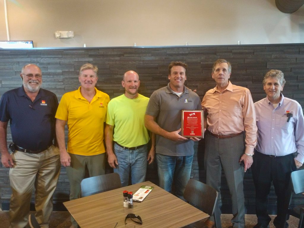 J.B. Builders of Grand Rapids Inc. wins Key to Our Success Award from CD Barnes Construction